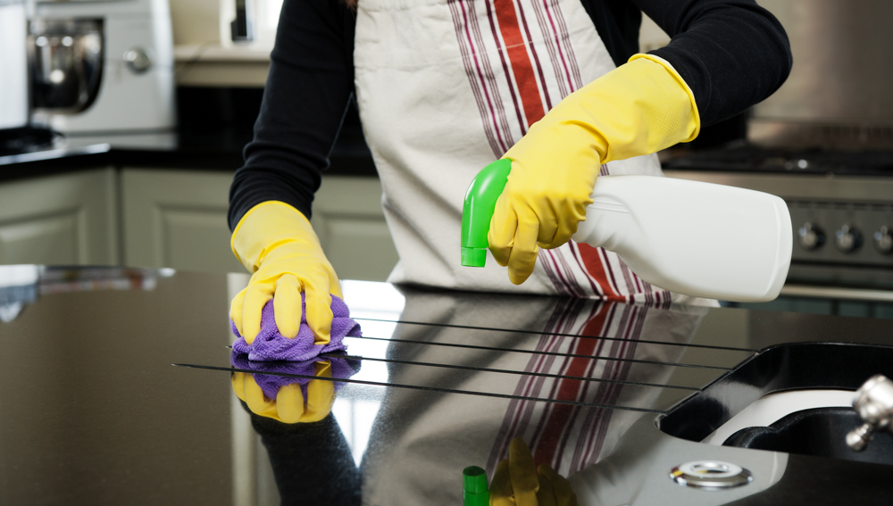 A Clean Kitchen - Mopping In Heels